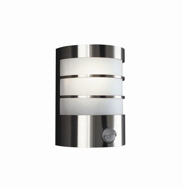 venkovní nástěnné svítidlo s pohybovým čidlem Philips Massive 17026/47/10 - šedá