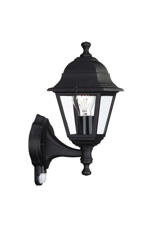 venkovní nástěnné svítidlo s pohybovým čidlem Philips Massive 71422/01/30 - černá