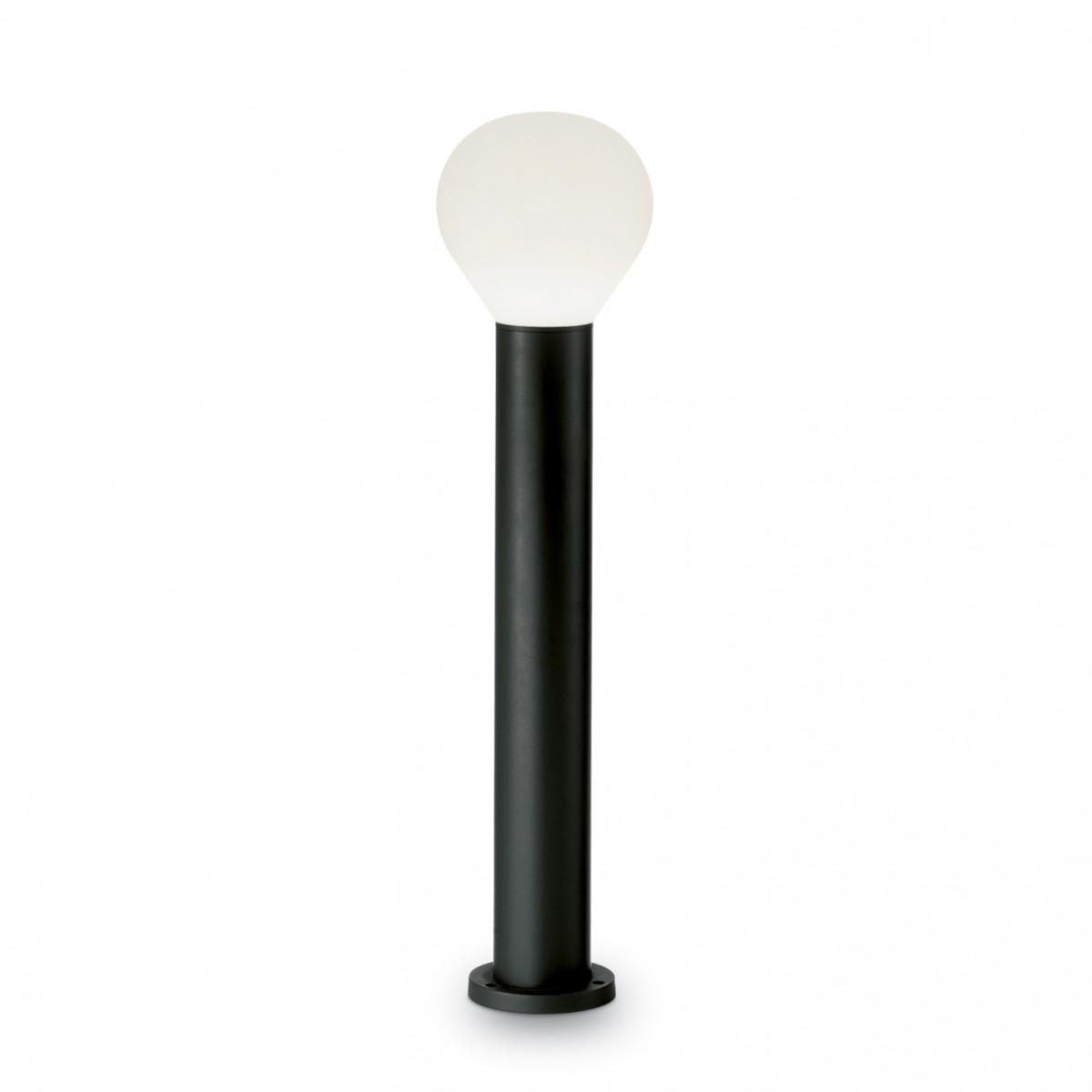 venkovní sloupek Ideal Lux Clio H60 PT1 135397 1x60W E27 - komplexní osvětlení exterieru