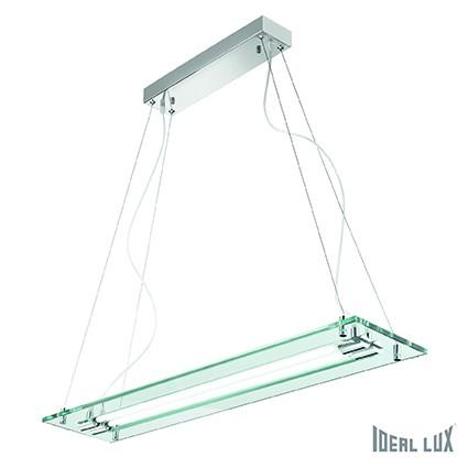 závěsné stropní svítidlo Ideal lux Relax 017938 2x39W T5 - chrom