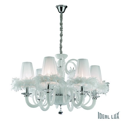 závěsné svítidlo Ideal lux Cabaret SP6 035741 6x40W E14 - luxus z Moulin Rouge
