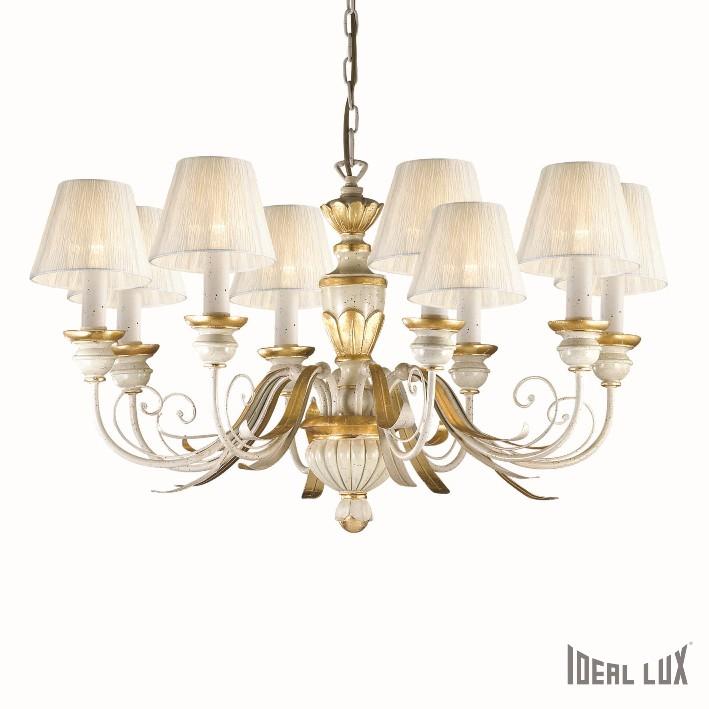 závěsné svítidlo Ideal lux Flora SP8 052670 8x40W E14 - luxusní komplexní osvětlení