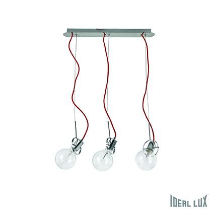 závěsné svítidlo Ideal lux Radio SP3 119397 3x60W E27 - komplexní osvětlení