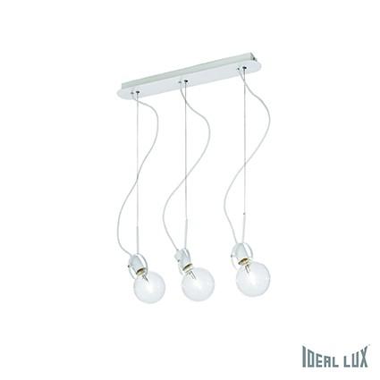 závěsné svítidlo Ideal lux Radio SP3 119434 3x60W E27 - komplexní osvětlení