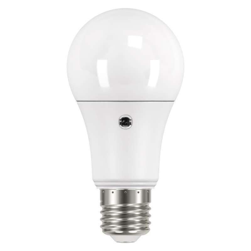 Emos ZQ5140L LED žárovka s fotosenzorem 1x9W E27 3000K Emos LED žárovka s fotosenzorem Classic A60 9W E27 teplá bílá