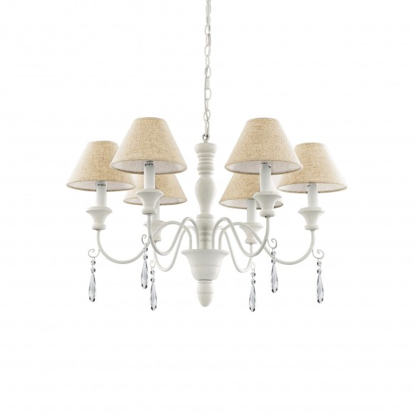Ideal Lux 003399 lustr Provence 6x40W|E14