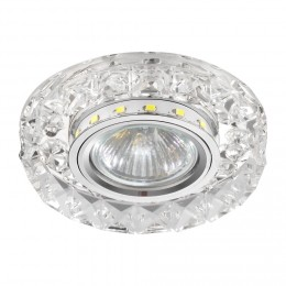 Emithor 71074 ELEGANT DOUBLE LIGHT zápustné svítidlo GU10 / 50W, chrom