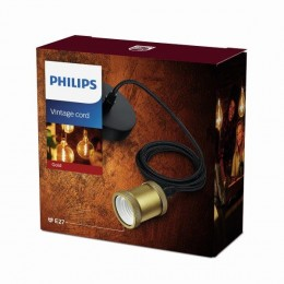 Philips 8718696167779 kabel s objímkou Cord Classic Gold E27
