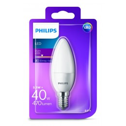 Philips LED 5,5W / 40W E14 WW B35 FR ND svíčka