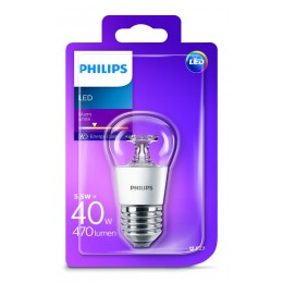 Philips LED 5,5W / 40W E27 WW P45 CL ND kapka lotus mini