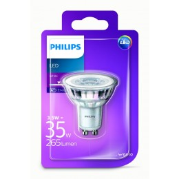 Philips LED 3,5W / 35W GU10 WH 36D ND bodová