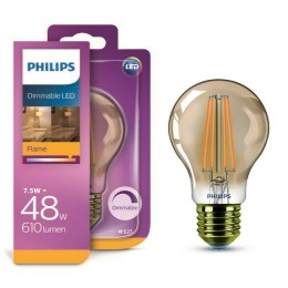 Philips LED Classic 7,5W / 48W E27 FL A60 D GOLD