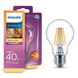 Philips LED Classic 5,5W / 40W E27 WW CL A60 WGD
