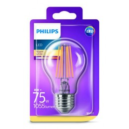 Philips LED Classic 8W / 75W E27 WW CL A60 ND