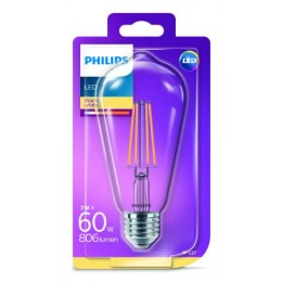 Philips LED Classic 7W / 60W E27 WW CL ST64 ND