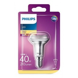 Philips LED 3W / 40W E14 WW R50 36D ND směrová