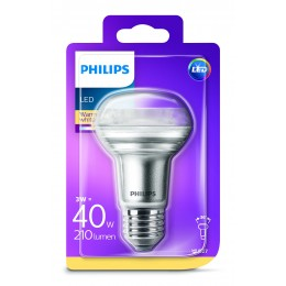 Philips LED 3W / 40W E27 WW R63 36D ND směrová