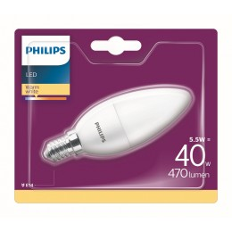 Philips 8718696829813 LED žárovka 1x5,5W|E14|2700K