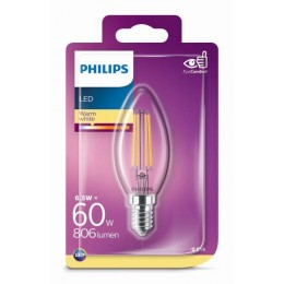Philips 8718699648763 LED žárovka 1x6,5W|E14|2700K