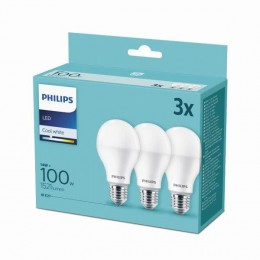 Philips 8718699694906 3x LED žárovka 1x14W|E27|4000K -triple pack