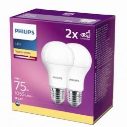 Philips 8718699726973 2x LED žárovka 1x11W|E27|2700K - double pack, EYECOMFORT