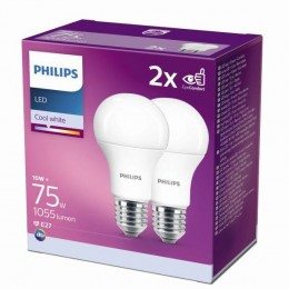 Philips 8718699726997 2x LED žárovka 1x11W|E27|4000K - double pack
