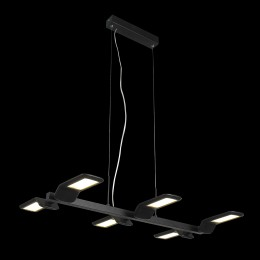 LUXERA 18076 Sector lustr LED 6x6W