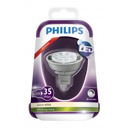 LED žárovka 6,5W (35W) GU5.3 WW 12V MR16 36D Grey Dim/4, bodové