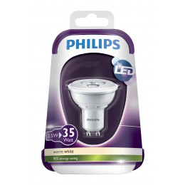 LED žárovka Philips 3,5W (35W) GU10 WW 230V 36D ND/4, bodová