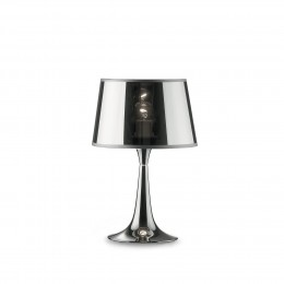 Ideal Lux 032368 stolní lampička London Small 1x60W|E27 - chrom