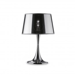 Ideal Lux 032375 stolní lampička London 1x60W|E27 - chrom