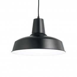 Ideal Lux 093659 lustr Moby Nero 1x60W|E27