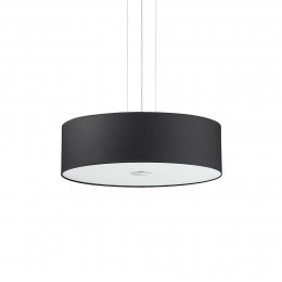 Ideal Lux 122243 lustr Woody Nero 4x60W|E27