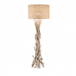 Ideal Lux 148939 stojací lampa Driftwood 1x60W|E27