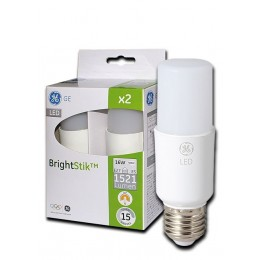 LED BrightStik 16W / 830 / E27 2-set
