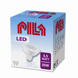 LED žárovka úsporná Philips 5,5W -> 35W GU5.3 - PILA LED SPOT LV 35W GU5.3 827 12V 36D ND