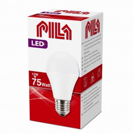 LED žárovka úsporná Philips 9,4W -> 75W E27 - PILA LED BULB 75W E27 827 A60 FR ND