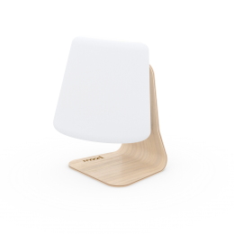 MOONI Modern table lampa - inteligentní stolní LED lampička + RGB