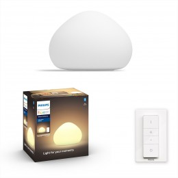 Philips Hue 44401/56/P6 LED stolní lampička Wellner 1x9,5W | E27 | 2200-6500K
