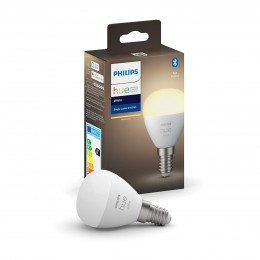 Philips Hue 8719514266889 1x LED žárovka 1x5,5W | E14 | 470lm | 2700K - Bluetooth, White