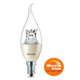 Philips LED 4W / 25W E14 WW BA38 CL WGD plamínek