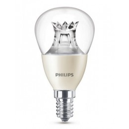 Philips LED 6W / 40W E14 WW P48 CL WGD kapka lotus mini