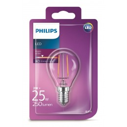 Philips LED Classic 2W / 25W E14 WW P45 CL ND mini