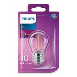 Philips 101383306 LED žárovka 1x4W|E27|2700K