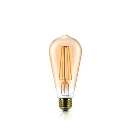 Philips LED Classic 7W / 50W E27 ST64 CL DIM GOLD