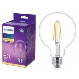 Philips LED Classic Globe 6W / 60W E27 WW CL G93 ND