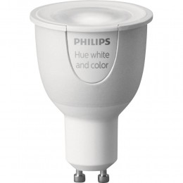 žárovka HUE Philips 6,5W GU10 LED - Žárovka Philips HUE GU10 white and color ambiance