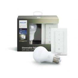 Philips Hue 8718696452523 LED žárovka + Dimmer Switch 1x9W|E27|2700K - White